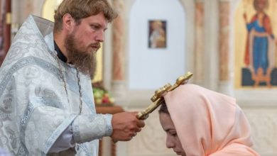 Photo of Назначение отца Сергия Сиротинанастоятелемхрама св. благоверного князя Владимира