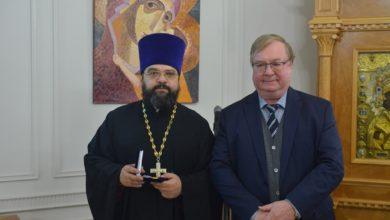 Photo of Священник Димитрий Сафонов награжден медалью памяти известного богослова и историка Николая Лисового